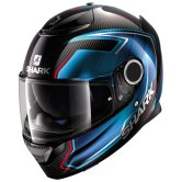 SHARK Spartan Carbon Guintoli Carbon / Chrom / Blue