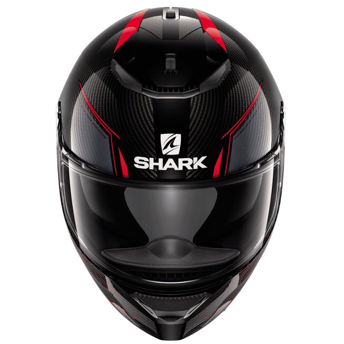 casco shark spartan carbon silicium carbon red anthracite motocard. Black Bedroom Furniture Sets. Home Design Ideas