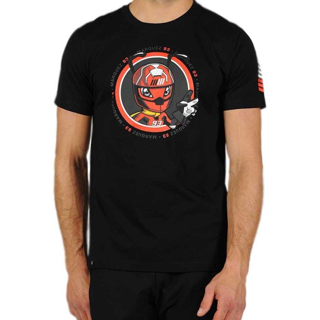 ac2ffdf898e18 Camiseta GP APPAREL Marc Marquez 93 1633070 Black · Motocard