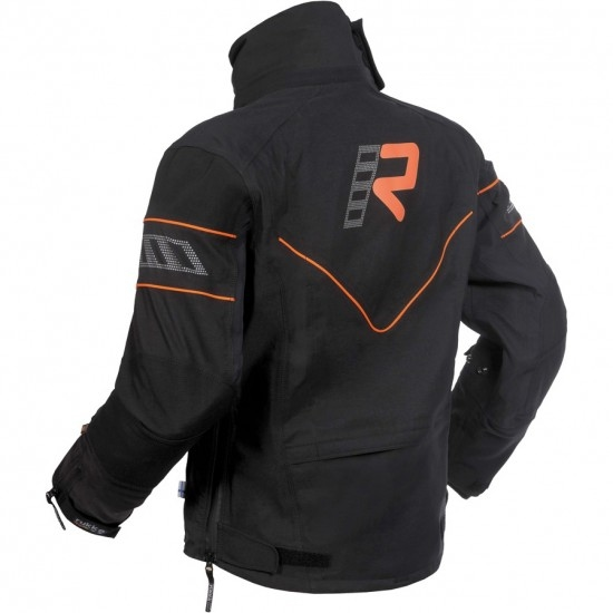 Blouson RUKKA Realer Gore-Tex Black / Orange