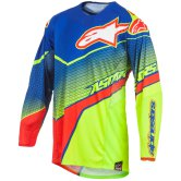 ALPINESTARS Techstar 2017 Venom Blue / Yellow Fluo / Red