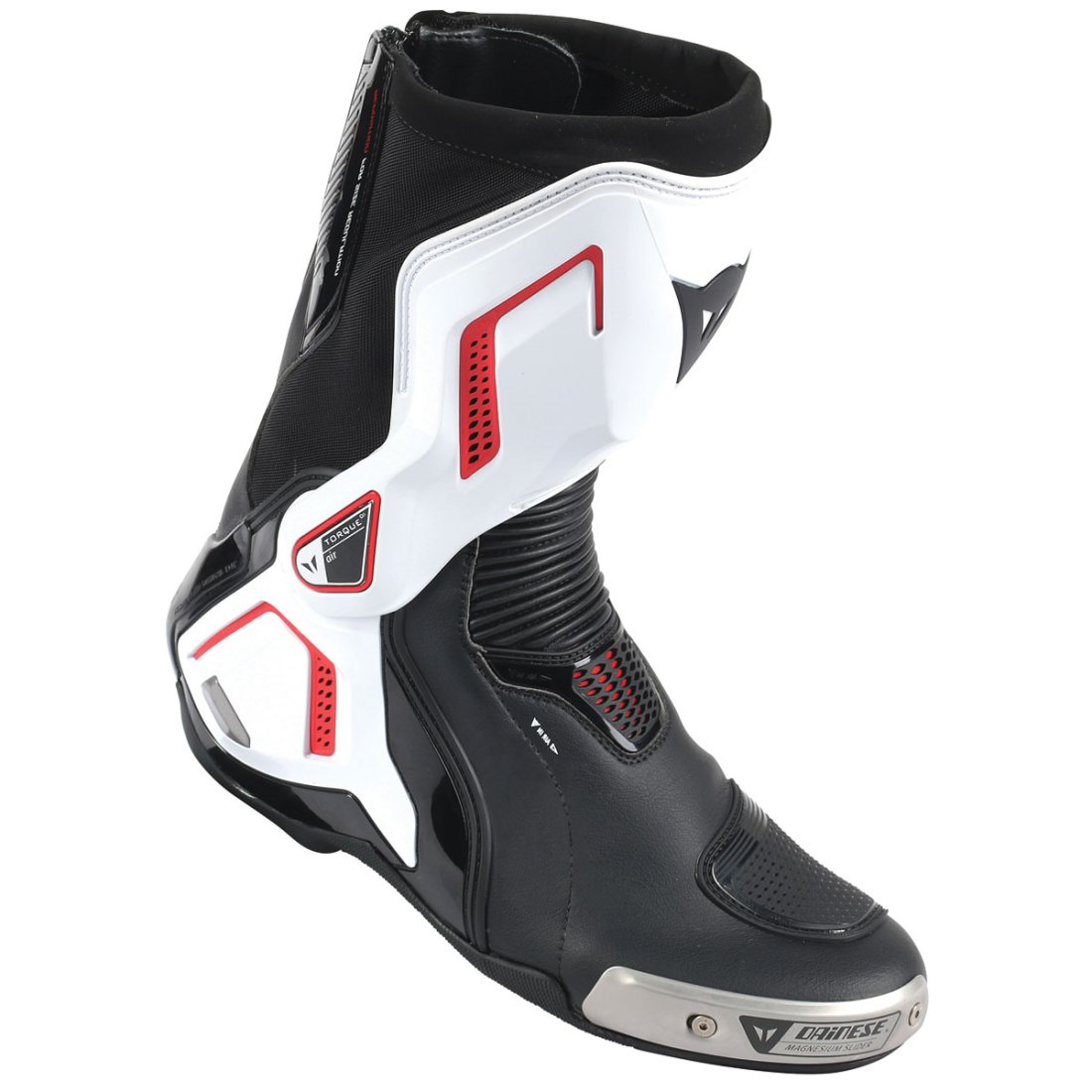 bottes dainese torque d1 out air black white lava red. Black Bedroom Furniture Sets. Home Design Ideas