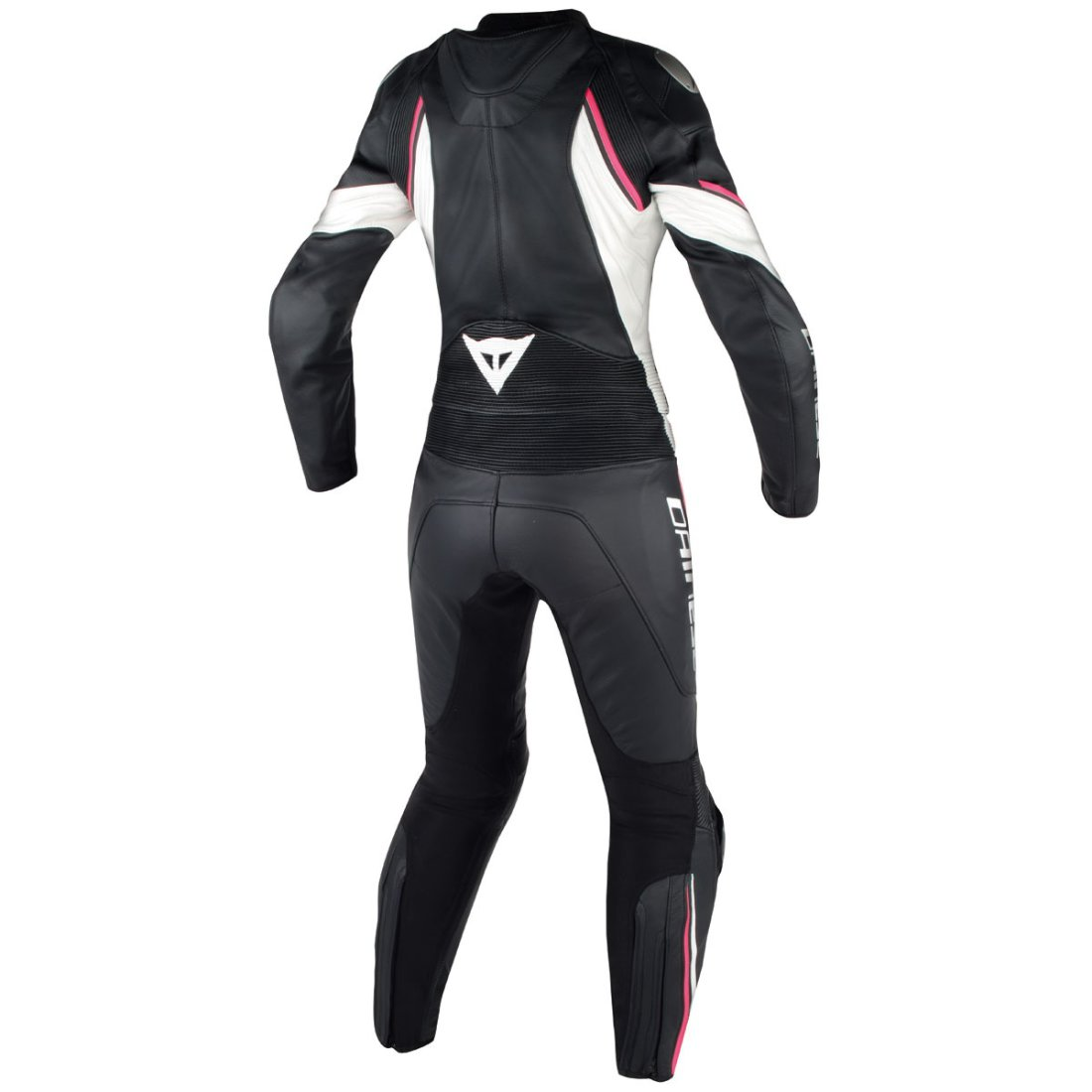dainese avro d2 lady black white fuxia suit motocard. Black Bedroom Furniture Sets. Home Design Ideas