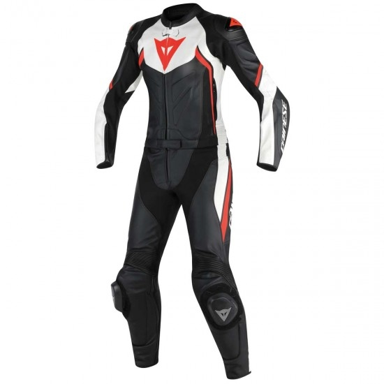 Traje / Mono DAINESE Avro D2 Lady Black / White / Red Fluo