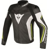 DAINESE Assen Black / White / Yellow Fluo