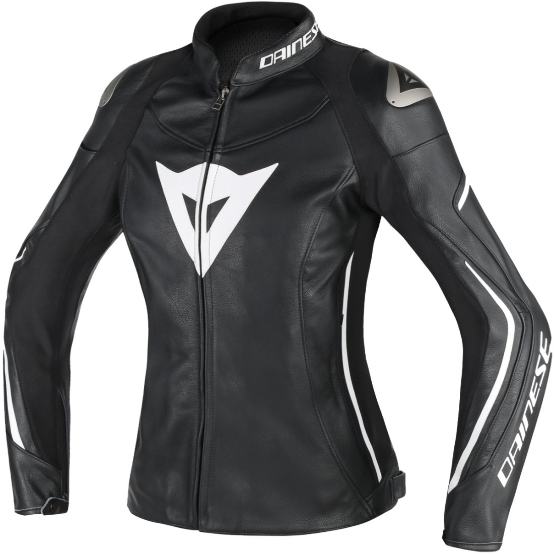 Lady Motocard · Chaqueta Black Assen Dainese White EYffqSw