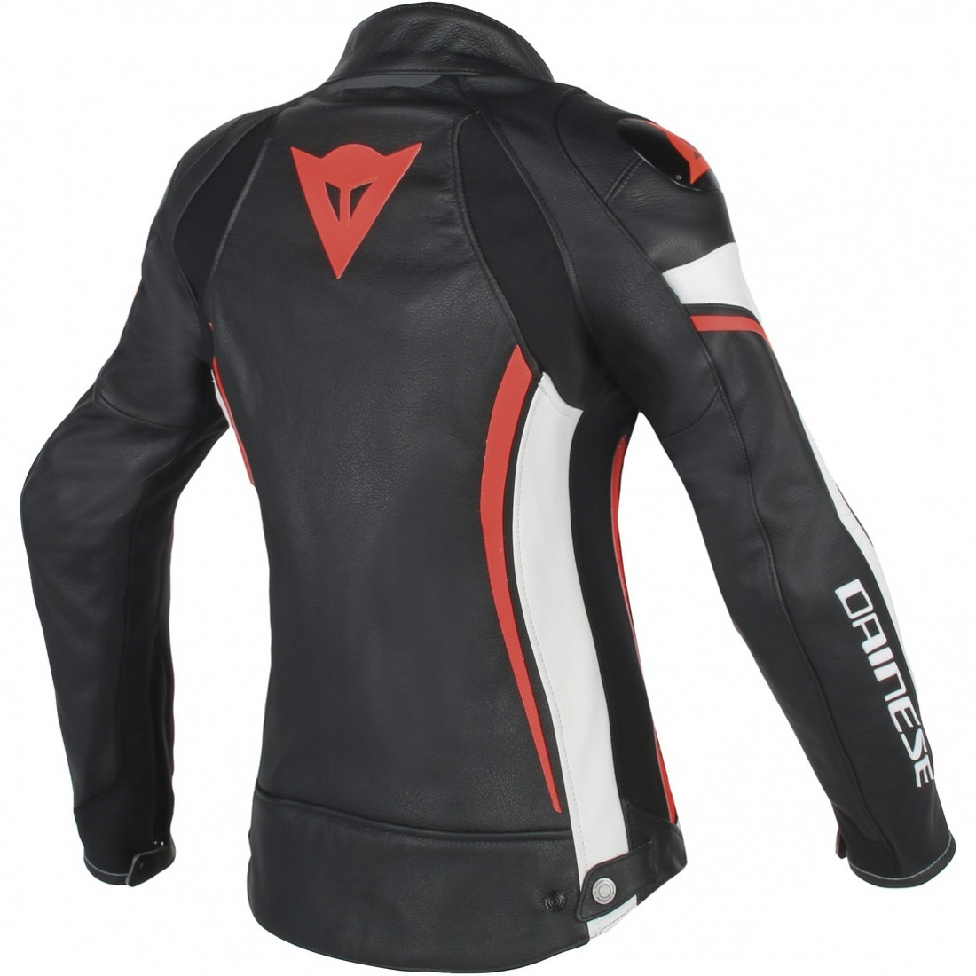blouson dainese assen lady black white red fluo motocard. Black Bedroom Furniture Sets. Home Design Ideas