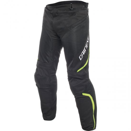 Pantalone DAINESE Drake Air D-Dry Black / Yellow Fluo