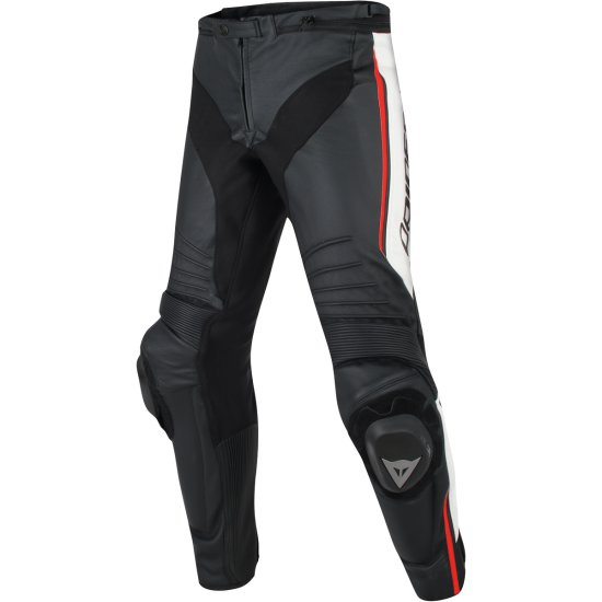 Pantalone DAINESE Misano Black / White / Red Fluo
