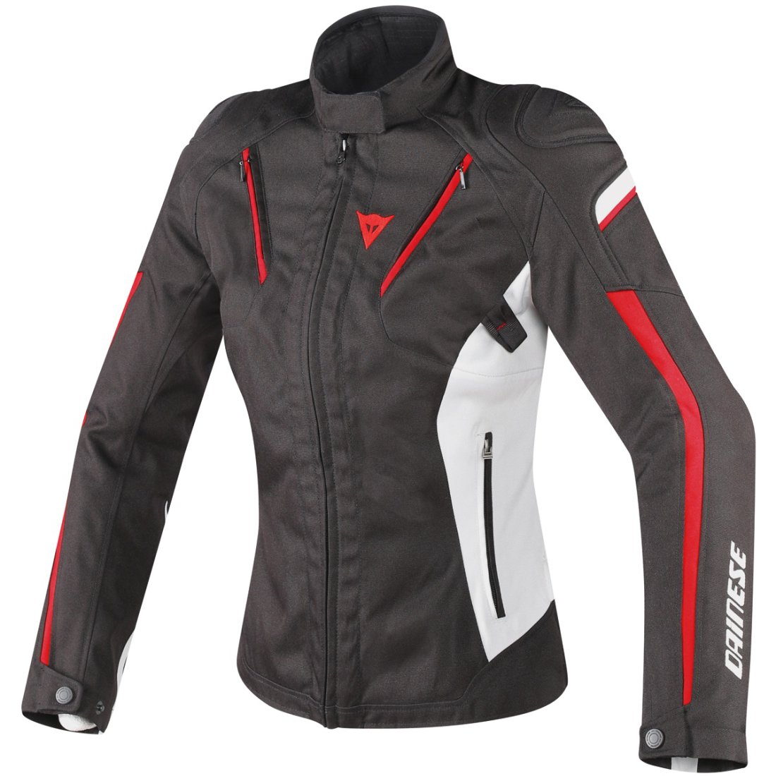 DAINESE Stream Line D-Dry Lady Black / Glacier Gray / Red Jacket