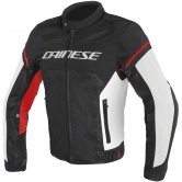 DAINESE Air Frame D1 Tex Black / White / Red