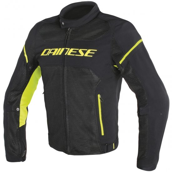 Chaqueta DAINESE Air Frame D1 Tex Black / Yellow Fluo