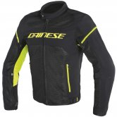 DAINESE Air Frame D1 Tex Black / Yellow Fluo