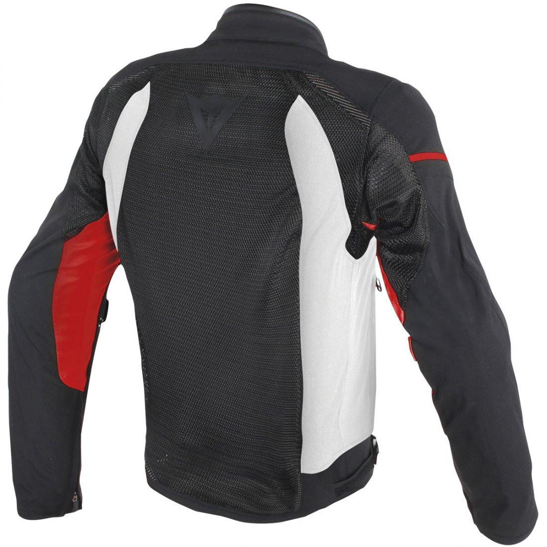 Dainese Air Frame D1 Tex Black White Red Jacket 183 Motocard