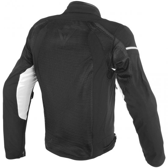DAINESE Air Frame D1 Tex Black / White Jacket