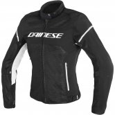DAINESE Air Frame D1 Tex Lady Black / White