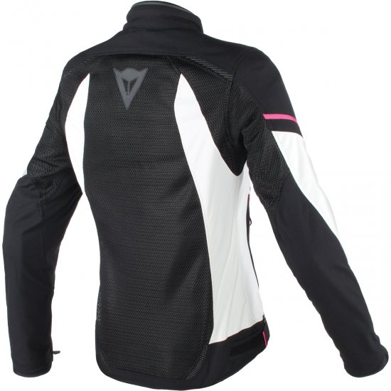 Jacke DAINESE Air Frame D1 Tex Lady Black / Vaporous-Gray / Fuxia