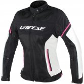 DAINESE Air Frame D1 Tex Lady Black / Vaporous-Gray / Fuxia