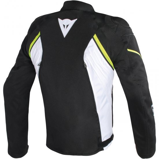 DAINESE Avro D2 Tex Black / White / Yellow Fluo Jacket