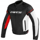 DAINESE D-Frame Tex Black / White / Red