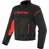 DAINESE Air Frame D1 Tex Black / Black / Fluo-Red