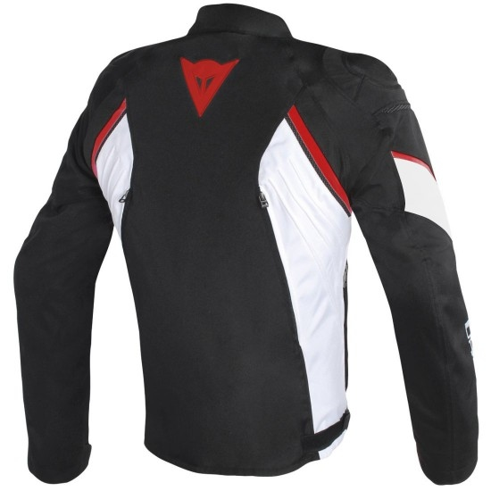 Jacke DAINESE Avro D2 Tex Black / White / Red