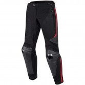 DAINESE Mig Leather-Tex Black / Red-Lava