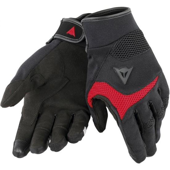 Guantes DAINESE Desert Poon D1 Black / Red