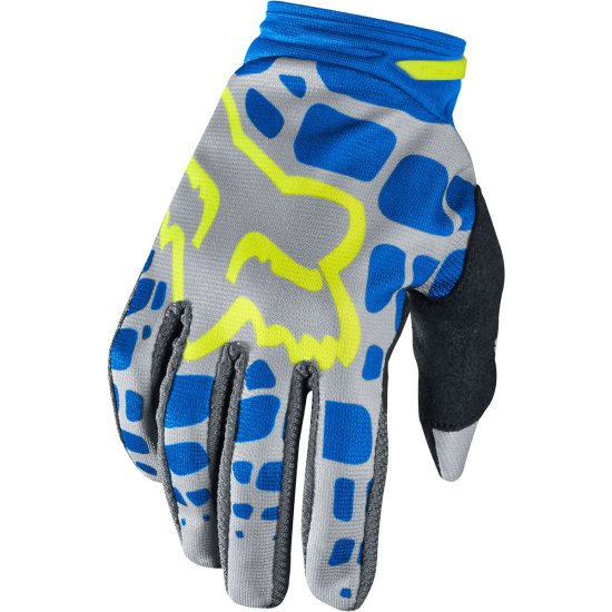 Guantes FOX Dirtpaw 2017 Lady Grey / Blue