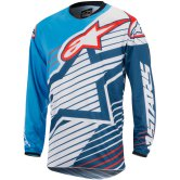 ALPINESTARS Racer 2017 Braap Cyan / White / Dark Blue