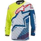 ALPINESTARS Racer 2017 Braap Yellow Fluo / White / Dark Blue