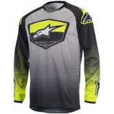 ALPINESTARS Racer 2017 Supermatic Anthracite / Yellow Fluo / Light Gray