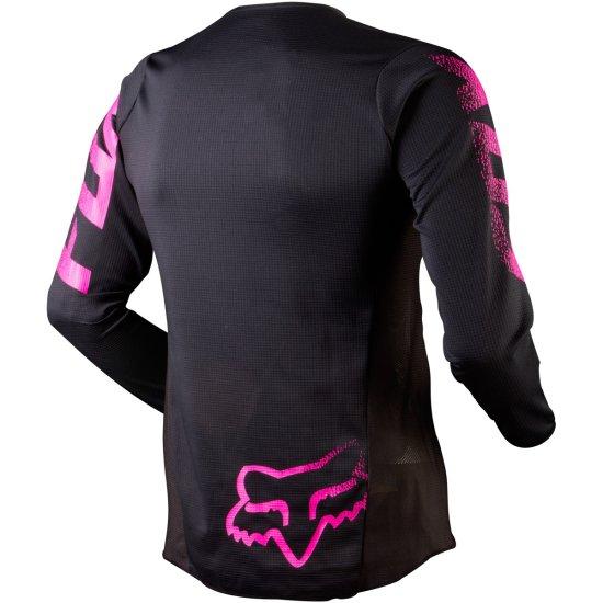 Jersey FOX Blackout Lady Black / Pink