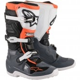 ALPINESTARS Tech 7S Junior Black / Grey / White / Orange Fluo
