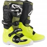 ALPINESTARS Tech 7S Junior Yellow Fluo / Military Green / Black