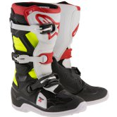 ALPINESTARS Tech 7S Junior Black / Red / Yellow Fluo