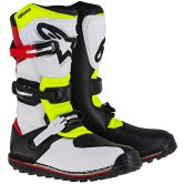 ALPINESTARS Tech T White / Red / Yellow Fluo / Black