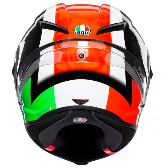 Casque AGV Corsa R Casanova Black / Red / Green