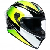 Corsa R Supersport Black / White / Lime