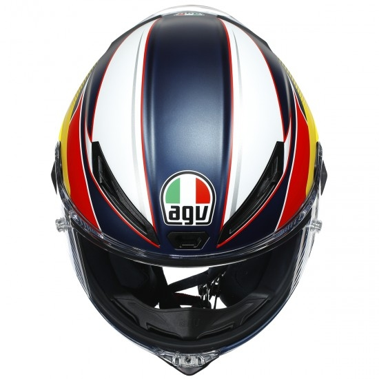 Helm AGV Corsa R Supersport Blue / Red / Yellow