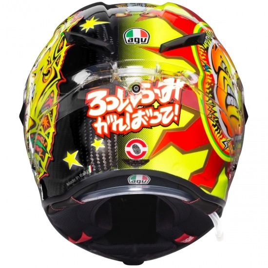 Capacete AGV Pista GP R Rossi 20 Years Limited Edition