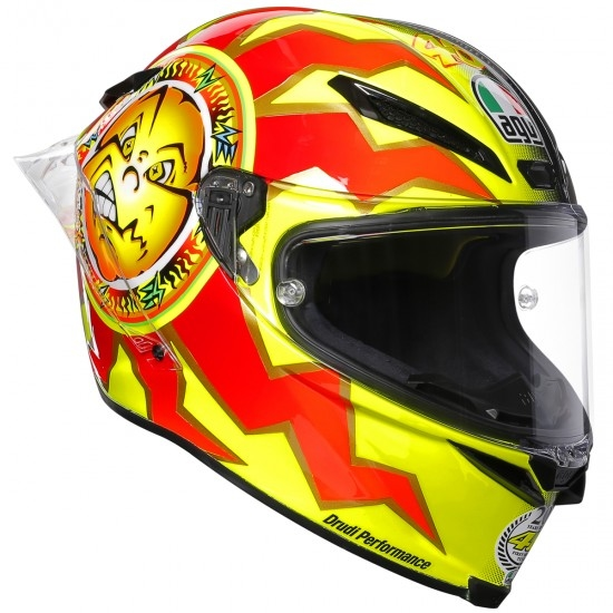 AGV Pista GP R Rossi 20 Years Limited Edition Helmet
