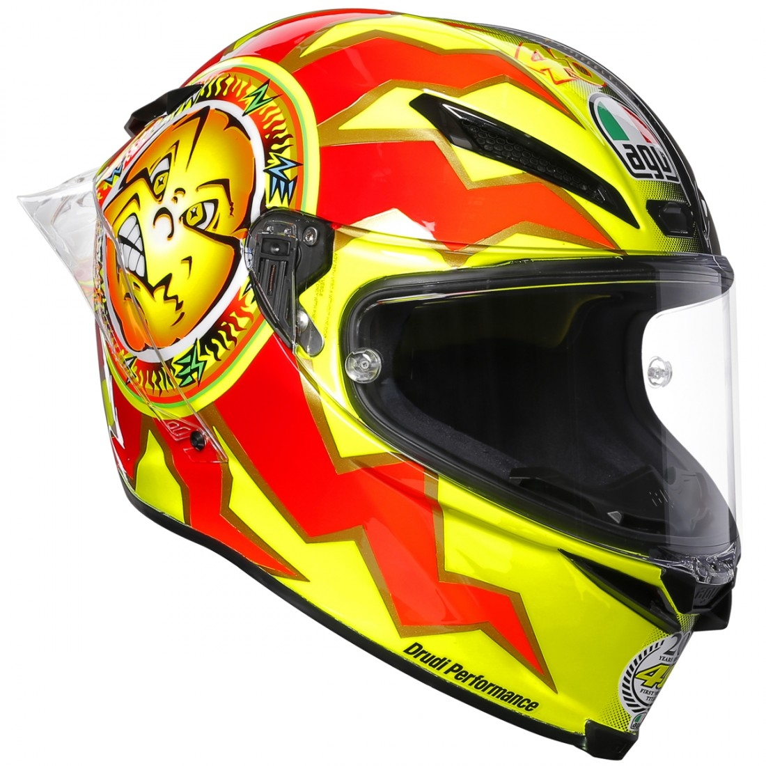 agv pista gp r rossi 20 years limited edition helmet motocard. Black Bedroom Furniture Sets. Home Design Ideas