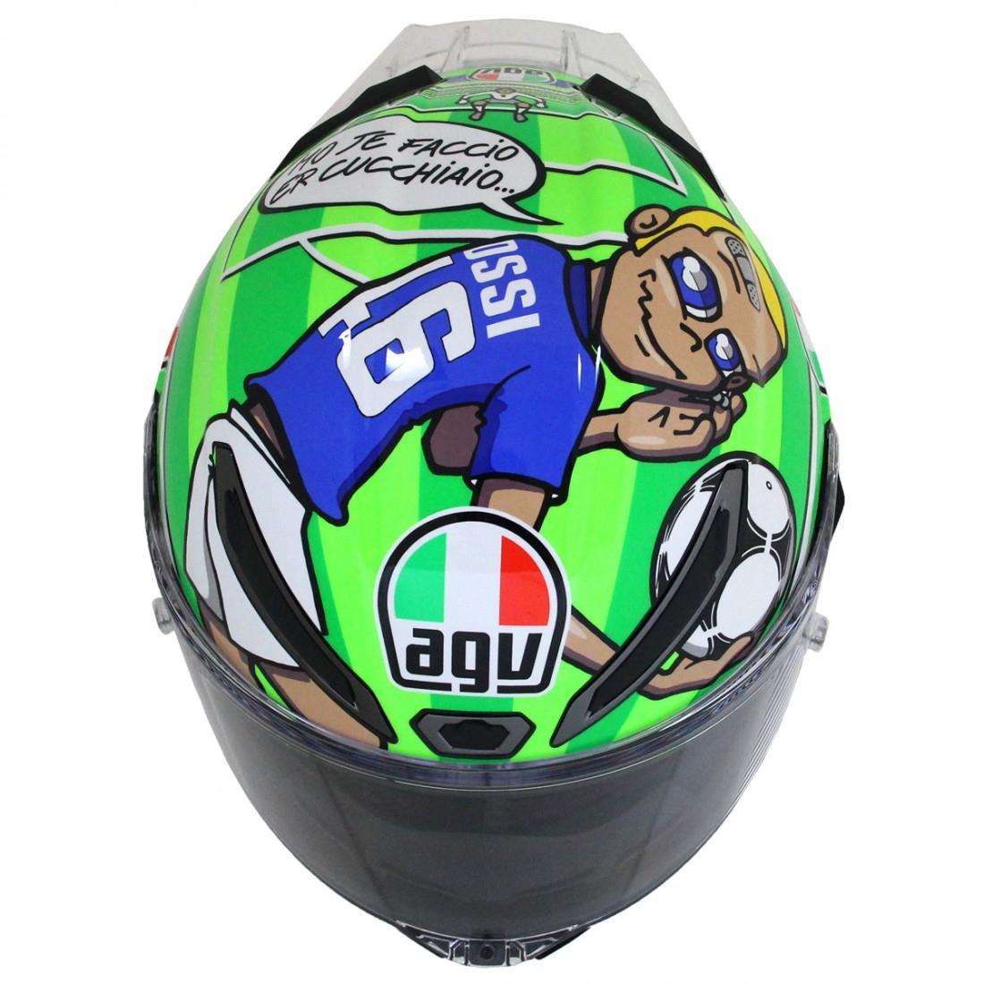 Helm AGV Pista GP R Rossi Mugello 2017 Limited Edition