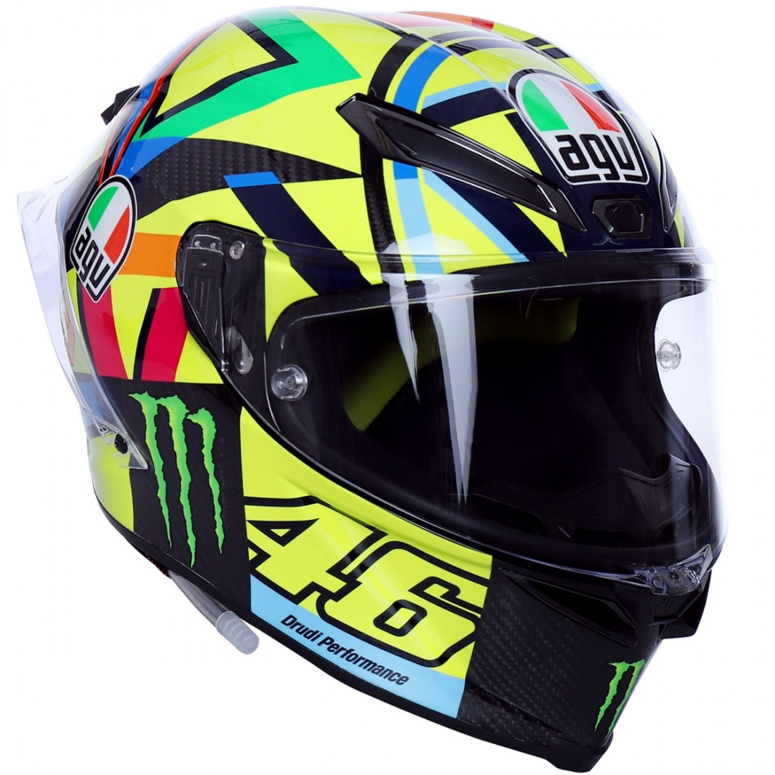 agv pista gp r rossi soleluna 2016 helmet motocard. Black Bedroom Furniture Sets. Home Design Ideas