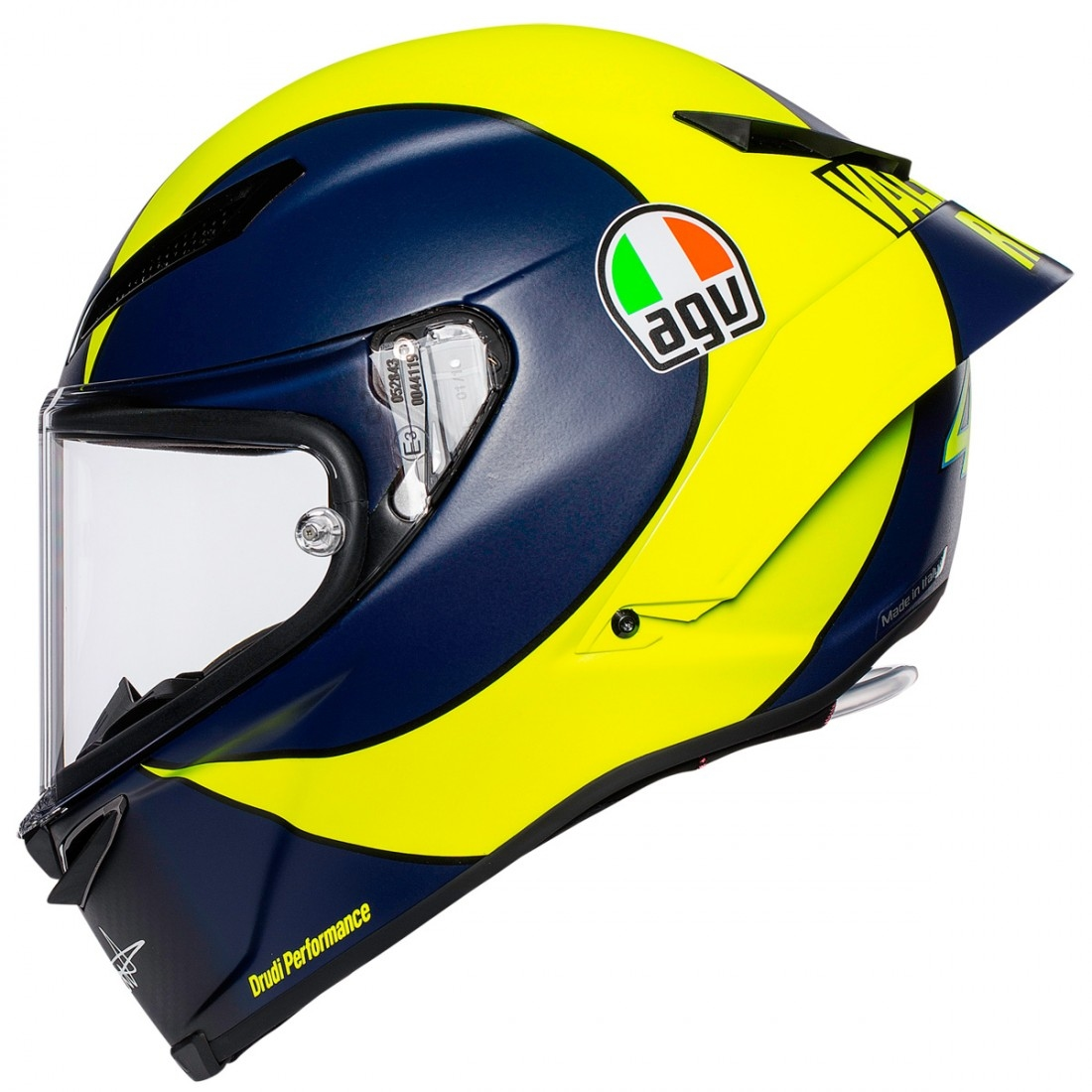 agv pista gp r rossi soleluna 2018 helmet motocard. Black Bedroom Furniture Sets. Home Design Ideas
