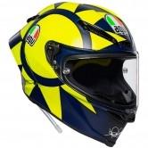 AGV Pista GP R Rossi Soleluna 2018