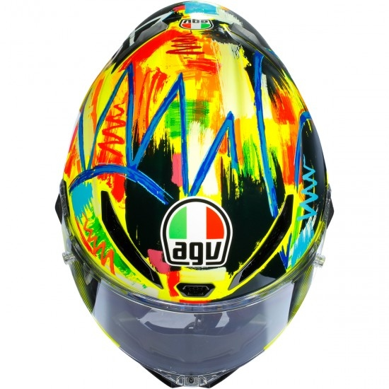 Helm AGV Pista GP R Rossi Winter Test 2019 Limited Edition