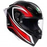 Capacete AGV Pista GP R Staccata Carbon / Red