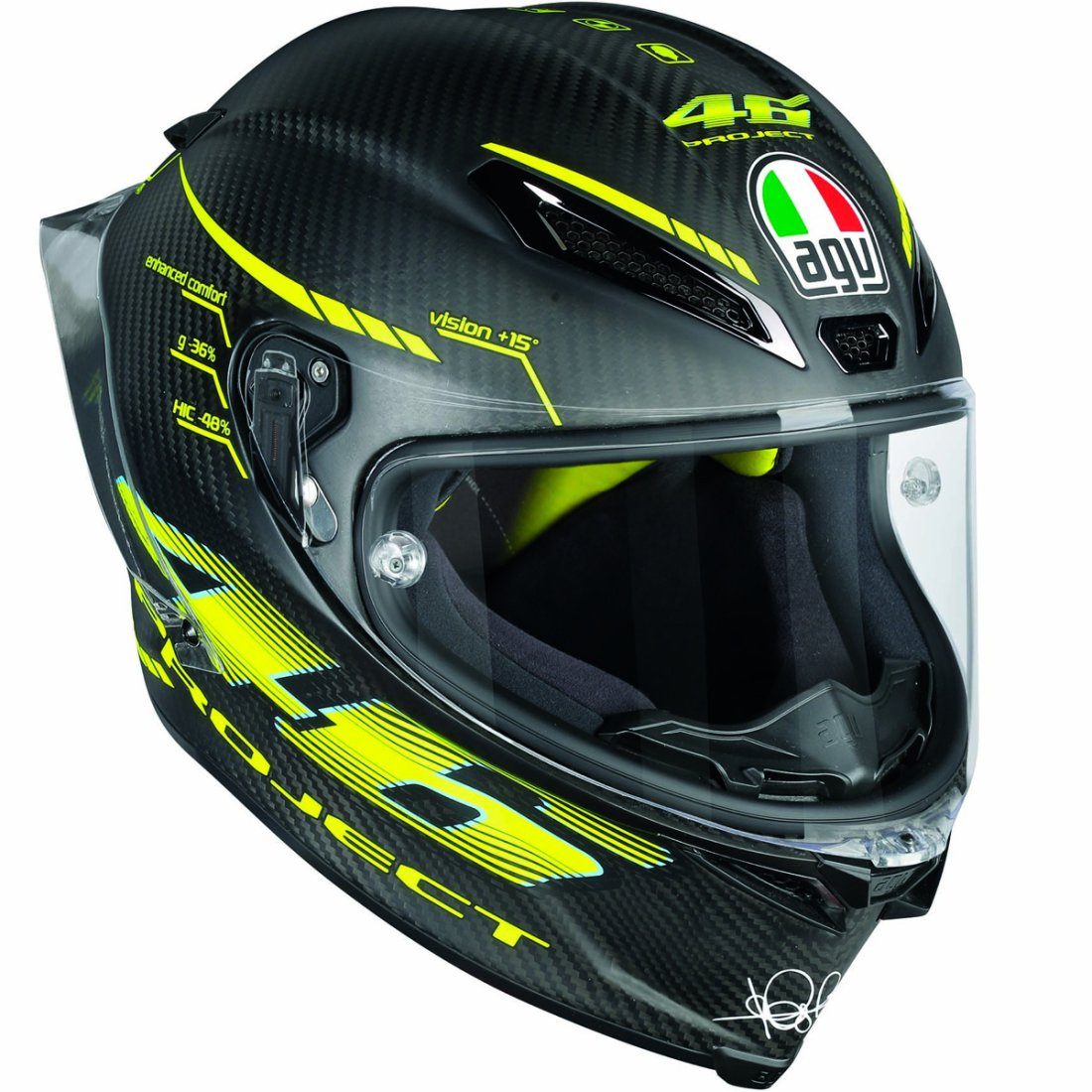 AGV Pista GP R Rossi Project 46 2.0 Helmet